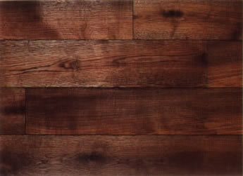 French Rustic Oak (dark-smoked, oiled)