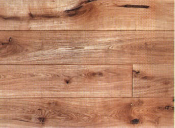 French Rustic Oak (natural, oiled, bevelled edges)